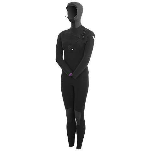 photo: Roxy Cypher 5/4/3 Hooded Full Suit wet suit