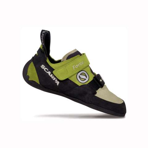 photo: Scarpa Women's Force climbing shoe