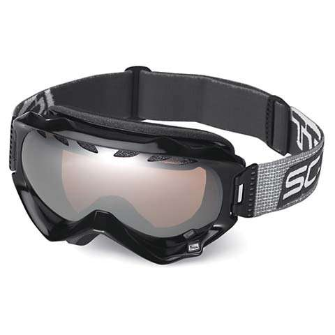 Scott Witness Goggles - Black / Chrome Amplifier - Scott Goggles