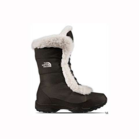 photo: The North Face Nuptse Fur III bootie