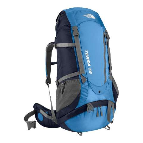 photo: The North Face Terra 55 weekend pack (3,000 - 4,499 cu in)